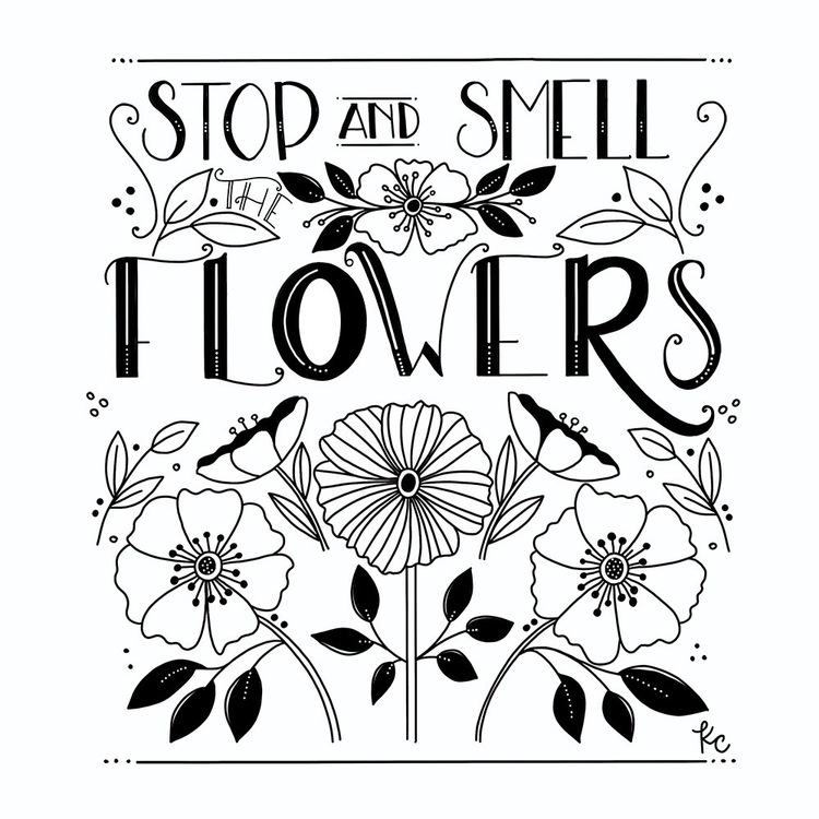 Stop Smell Flowers - kathryncole | ello