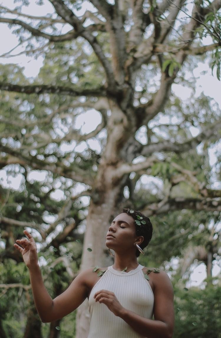 1: tree life. 2: Caique silva;  - caiqueportraits | ello