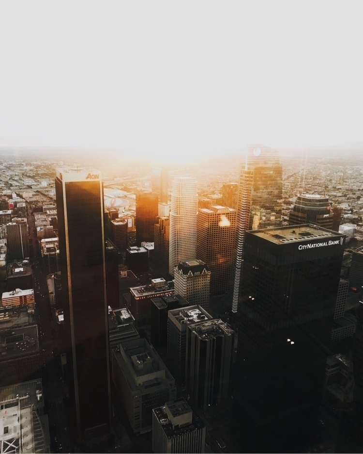 Giants - cityscape, landscape, sunset - chasingwest | ello