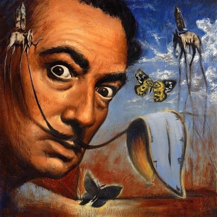 Salvador Dali Portrait Travis K - -chriswwriter- | ello