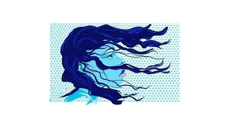 Blue beautiful love - art, mlvmt - mlvmt | ello