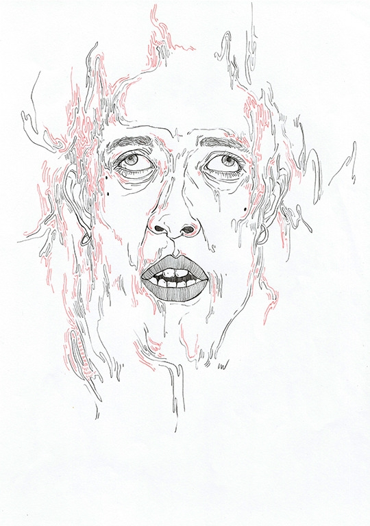 art, drawing, portrait - linsshit | ello