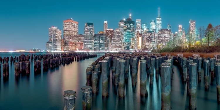 standing Brooklyn Bridge Park-  - awrotker | ello