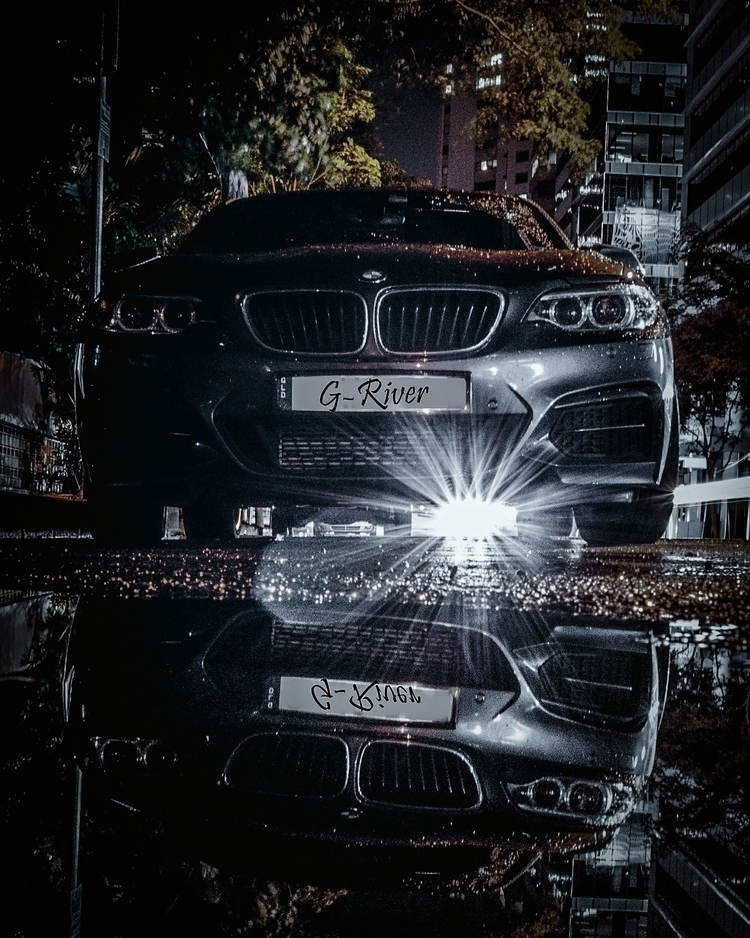 Street Stalking - bmw, nightphotography - g-river | ello
