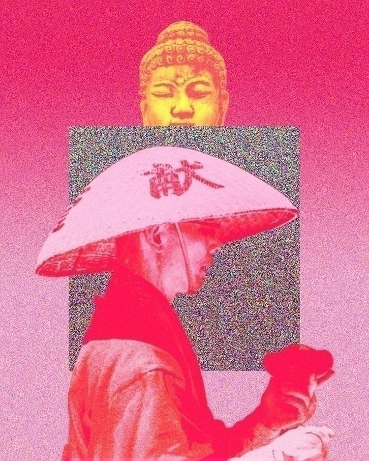 RED SERIES Begging Alams .化緣 - buddha - hermanchw | ello