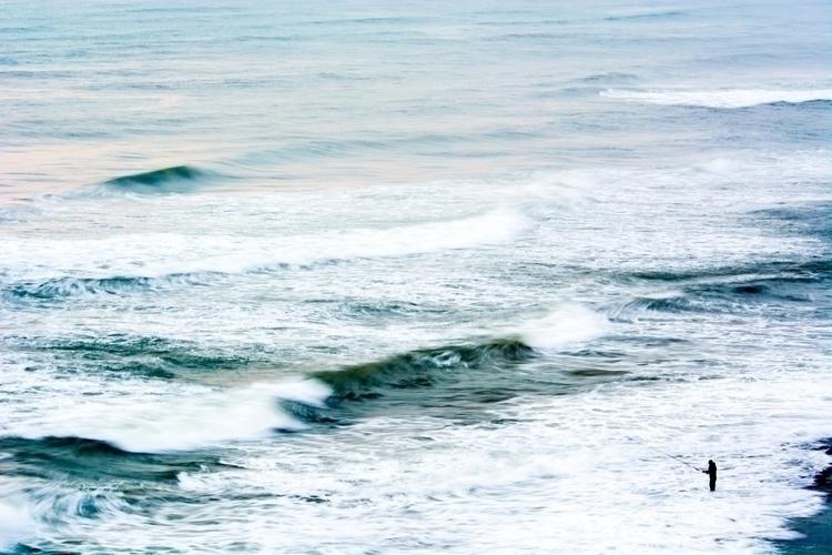 fisherman • Tel Baruch Beach, A - talpazfridman | ello