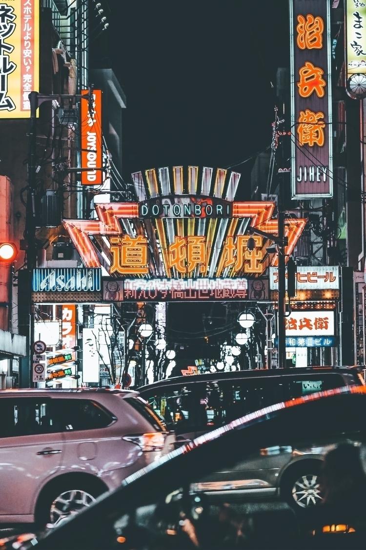 Late nights Osaka - streetphotography - sennysennny | ello