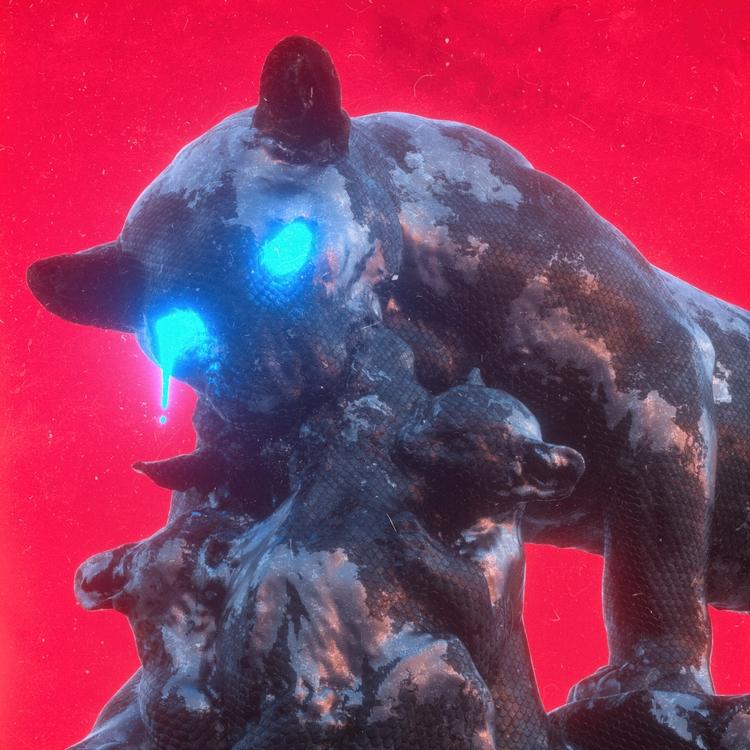 0081 Feast - 3d, c4d, cinema4d, octane - conquestofninjacats   ello