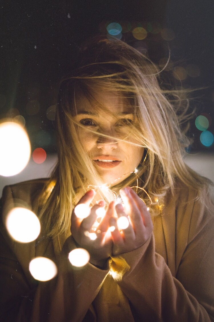 love world - stringlights, portrait - svnti90 | ello