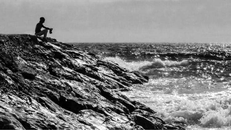 photography, blacandwhite, beach - gilbyvm   ello