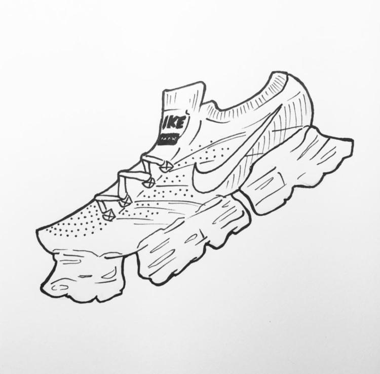 Babies - sneakers, draw, fineliner - pomi240 | ello