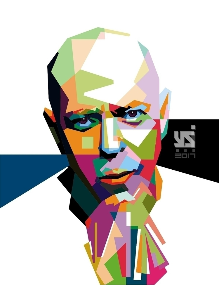 yanis WPAP maker upload artwork - purwantono_yanis | ello