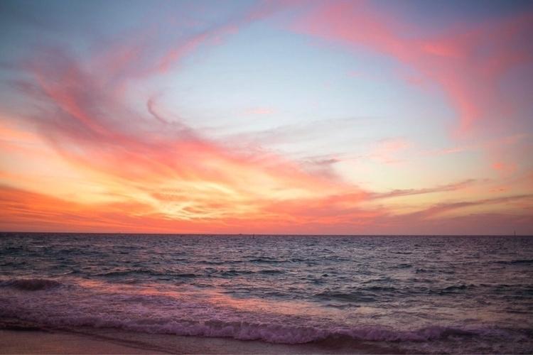 Summer Nights - sunset, beach, aesthetic - samuelmead | ello