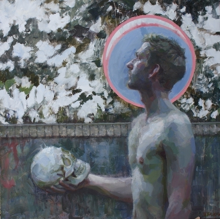 Painter Heads, oil aluminum pan - jenniferbalkan | ello
