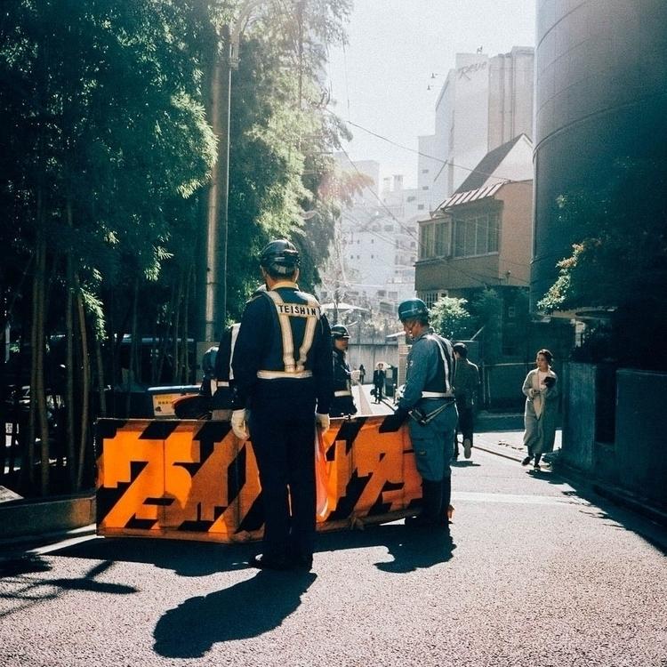 Construction scene Harajuku - film - tatebot | ello