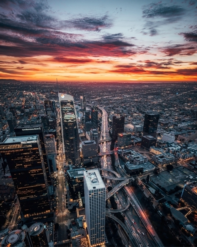 LA sunsets - ericjon23 | ello