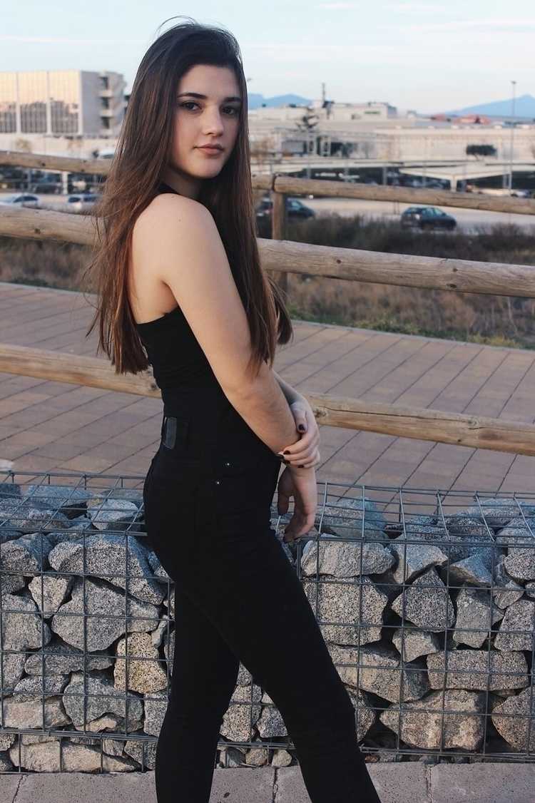 spain, photo, model, barcelona - mariajosecaballero   ello