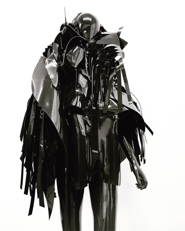 black, layered, tassel, dresses - jivomir_domoustchiev | ello