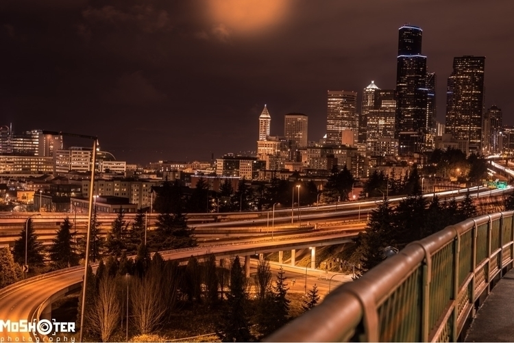 Prints - landscapes, seattle, art - moshooter | ello