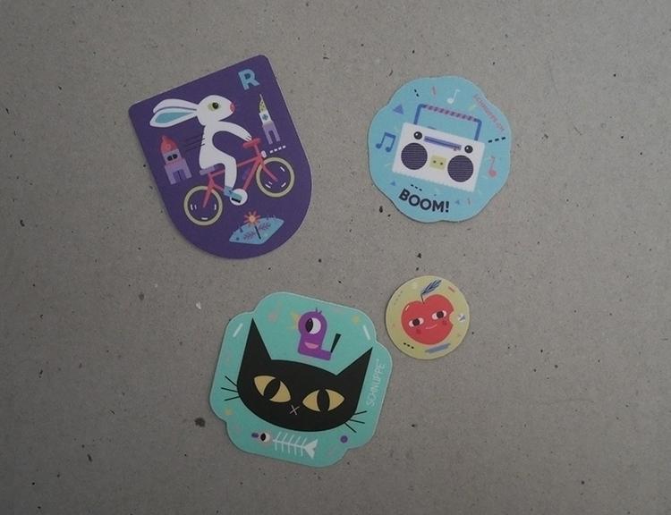 kleber, stickers illustration - sticker - schnuppe | ello