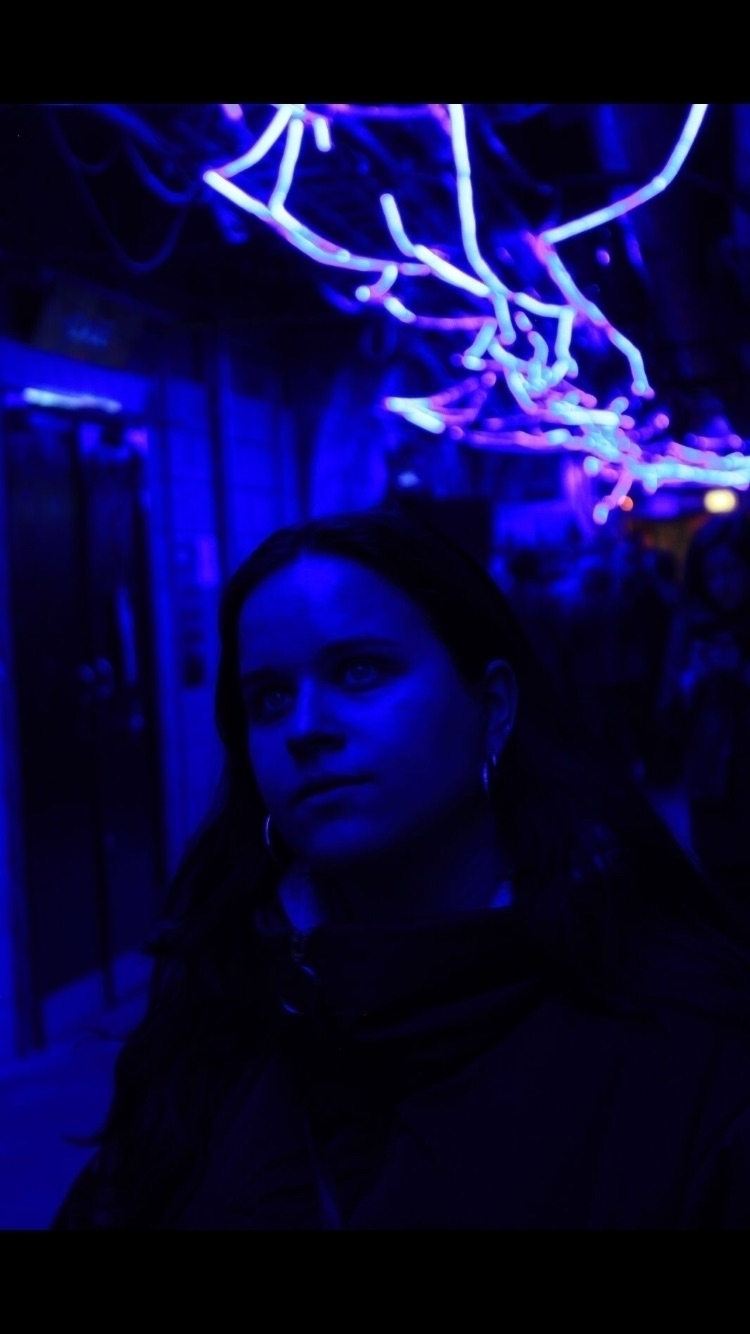 Yoli- Waterloo - Neon, London, Tunnel - amysticphotos | ello