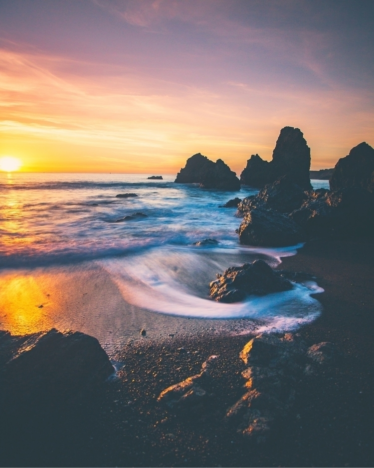 silky rodeo beach sunset - codymayer22 | ello