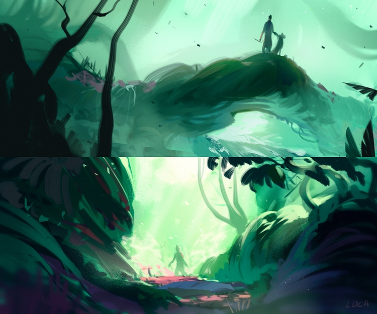 piece visual development person - lucapisanu | ello