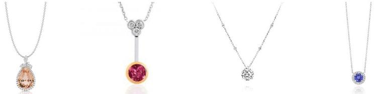 stunning diamond necklaces Sydn - barbaramorgan | ello