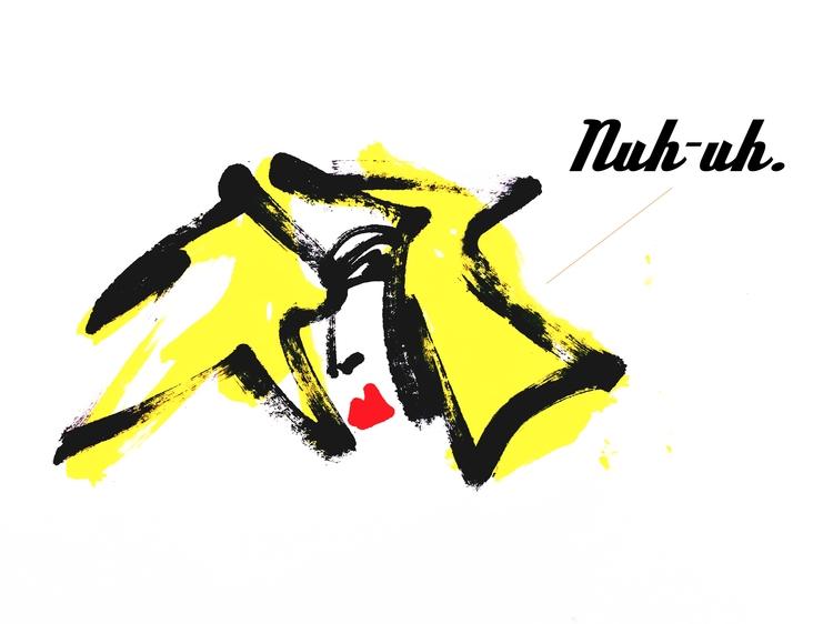 Nuh-Uh, 2018 series: Tiger Teet - jkalamarz | ello