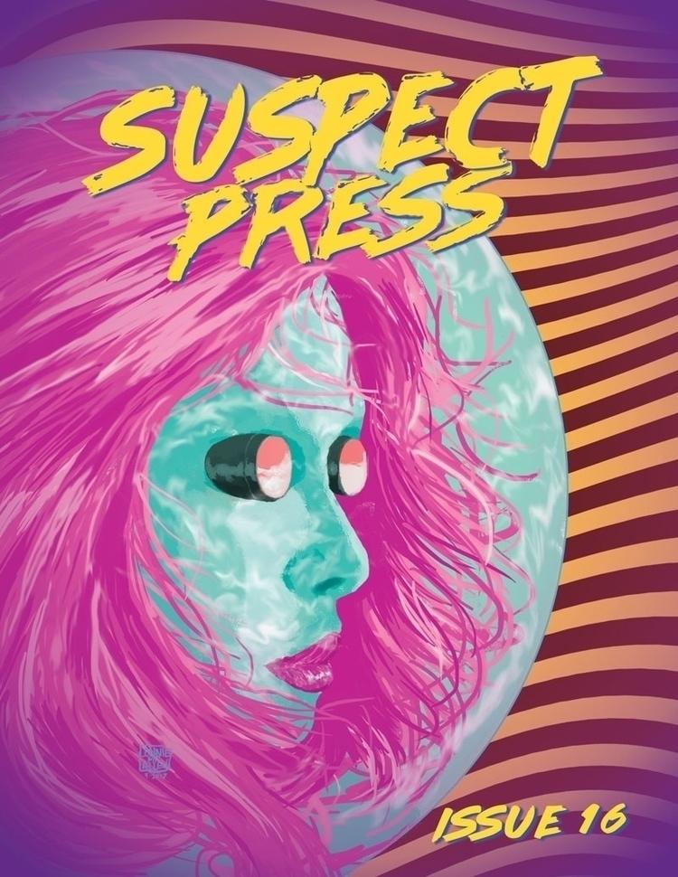 Suspect Press-Issue 16-Cover - lonniemfallen | ello