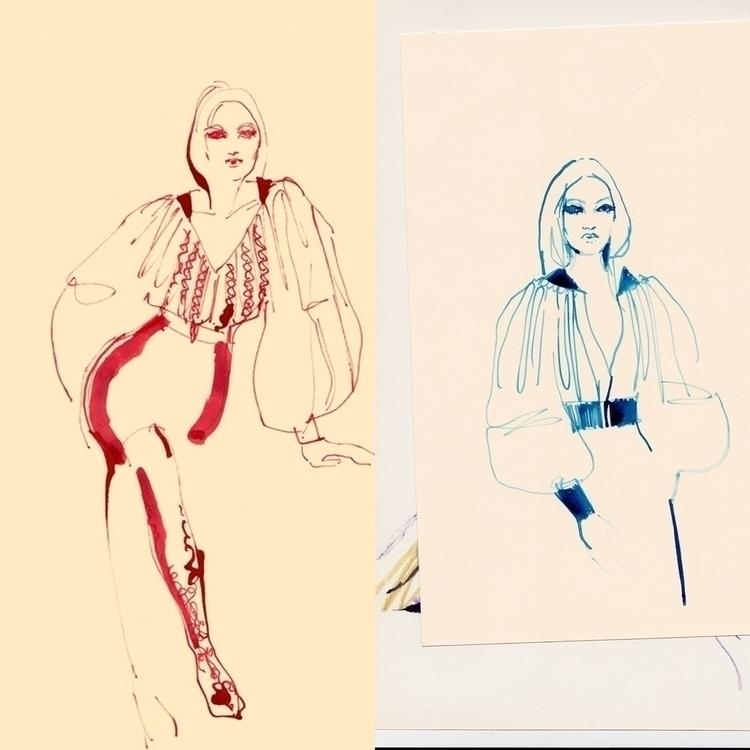 ink shetches 2018 sketch ia urb - michellepam | ello