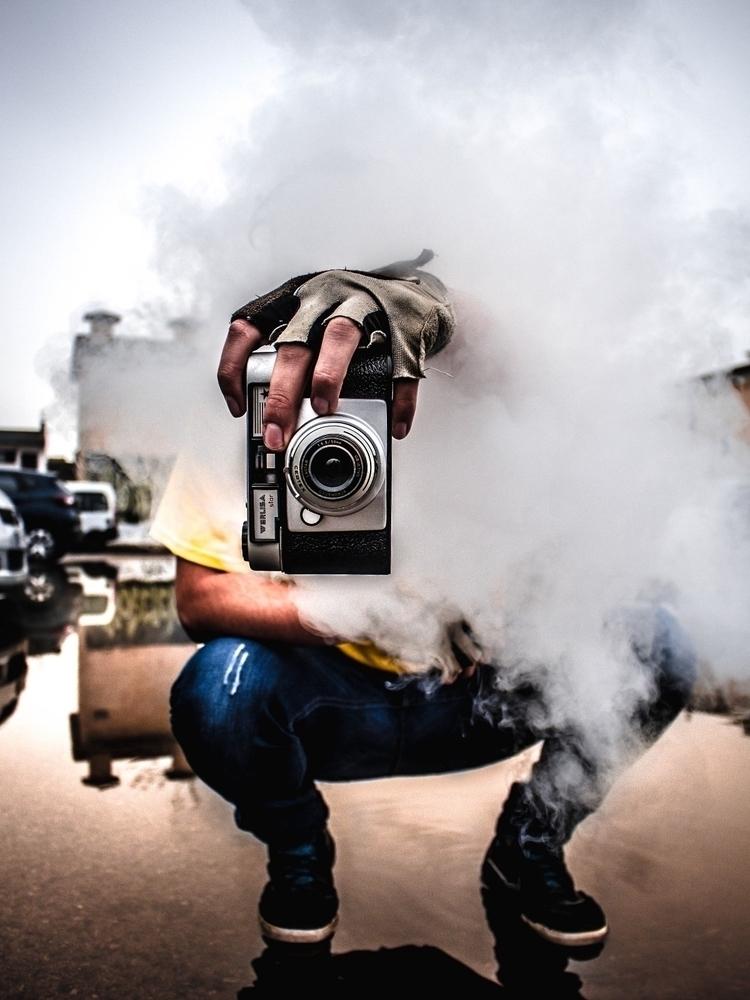 Camera eye:fire - portrait, moody - 70pts | ello