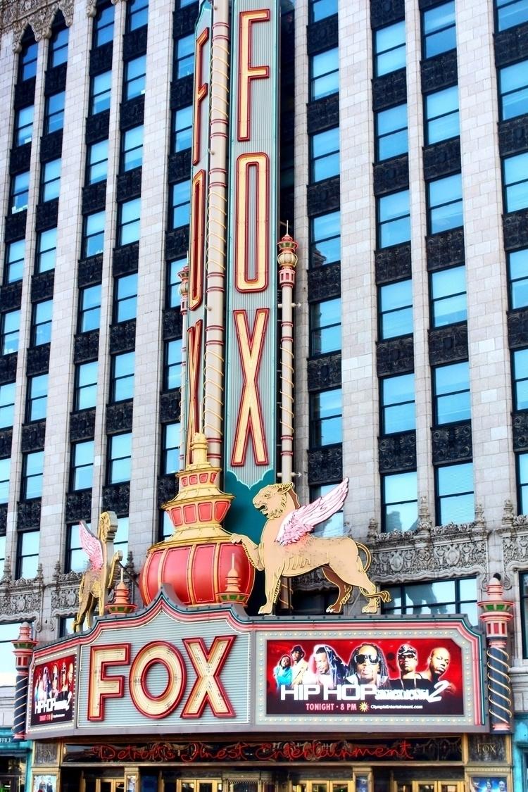 Fox Theatre - photography, detroit - kcirwerdna | ello