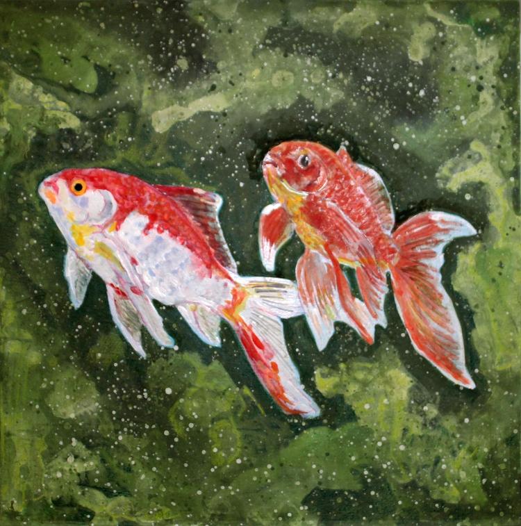2 Goldfish (12 12 1 -- mixed me - micksylvestre | ello