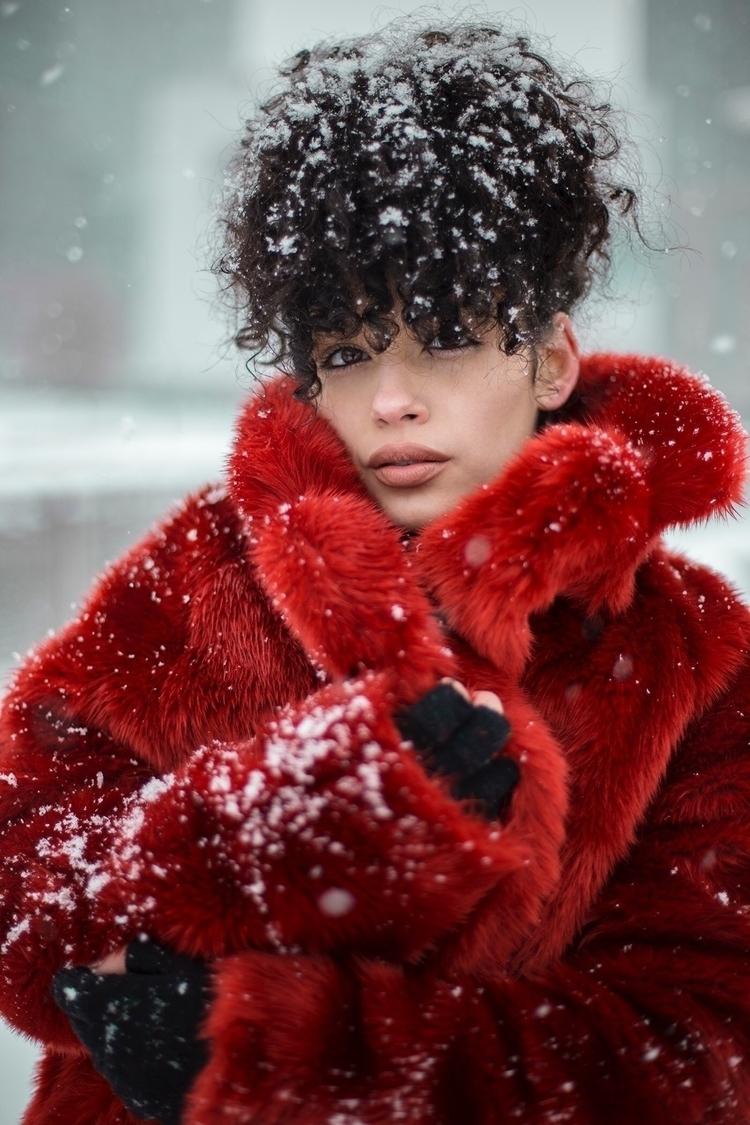 Snow days NYC - edwardanthonyphotography | ello
