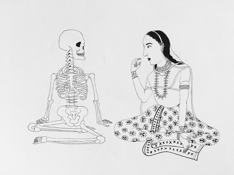 Title - Graveyard Picnic goth a - nhahmed | ello