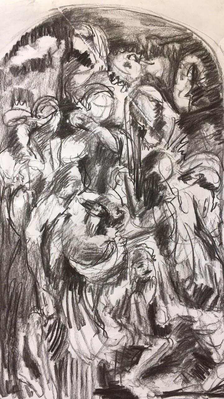 Pile | November, 2017 graphite  - elnr | ello