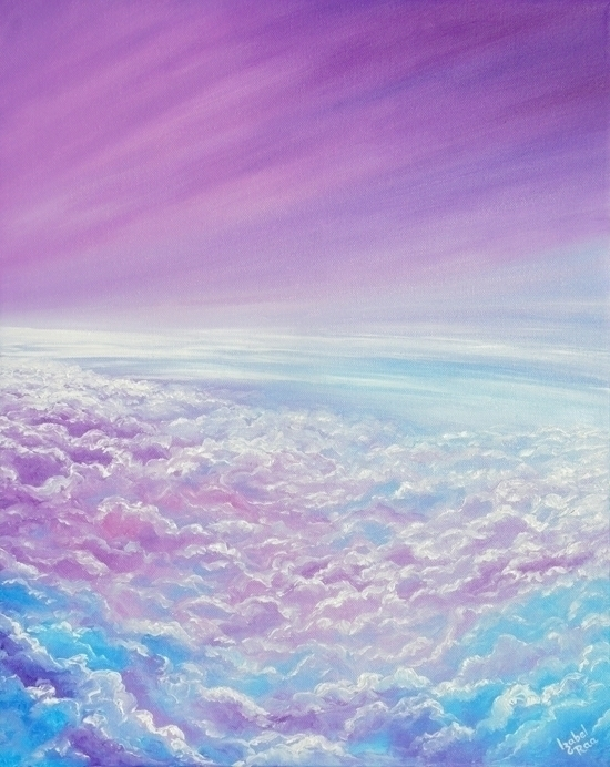 Flights Oil painting canvas. 16 - izabelraa | ello