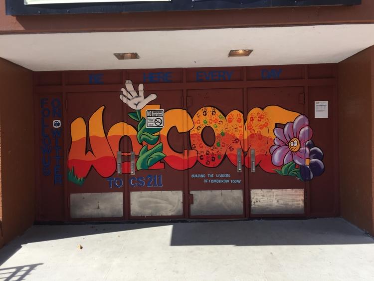 Mural Community School 211 Bron - jbonez | ello