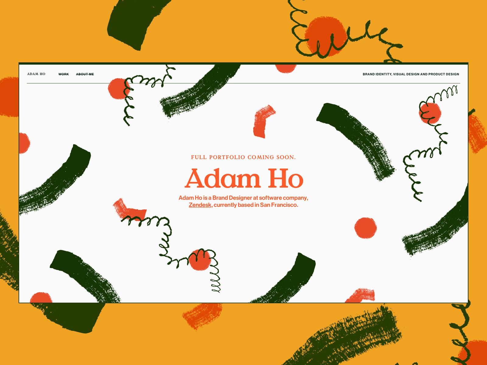 Portfolio design comp comps - portfolio - adamho | ello