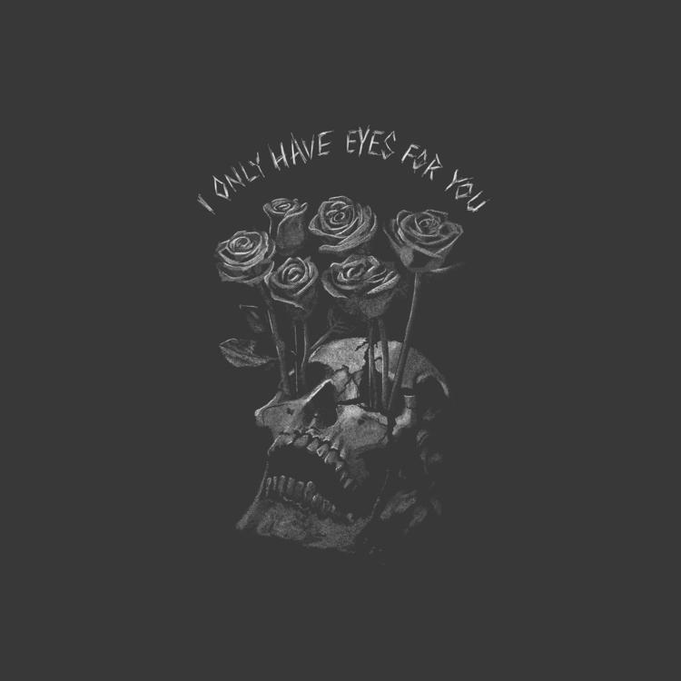 eyes - skulls, roses, merch, forsale - thefalconking | ello