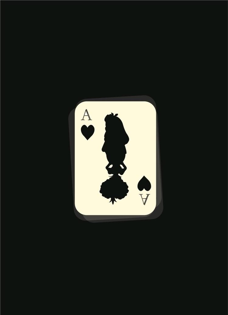"Minimalistic poster ""Alice Wond - gcgallard | ello"