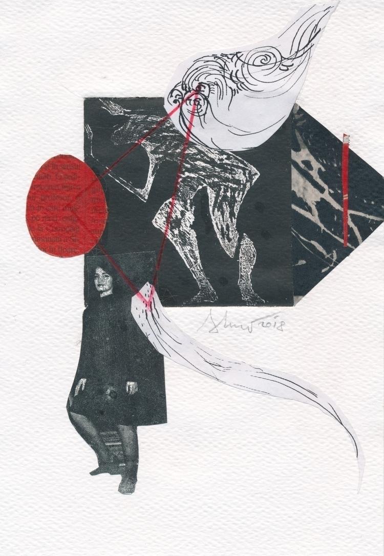 Wonderful mail art Adriana Luca - papiergedanken-collage-art | ello