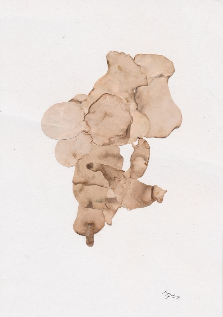 Wonderful mail art Walter Brovi - papiergedanken-collage-art | ello
