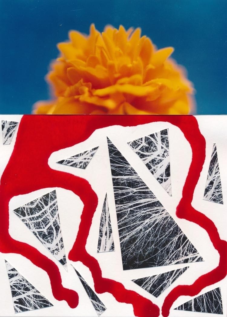 piece Mail art Call dreamworlds - papiergedanken-collage-art | ello