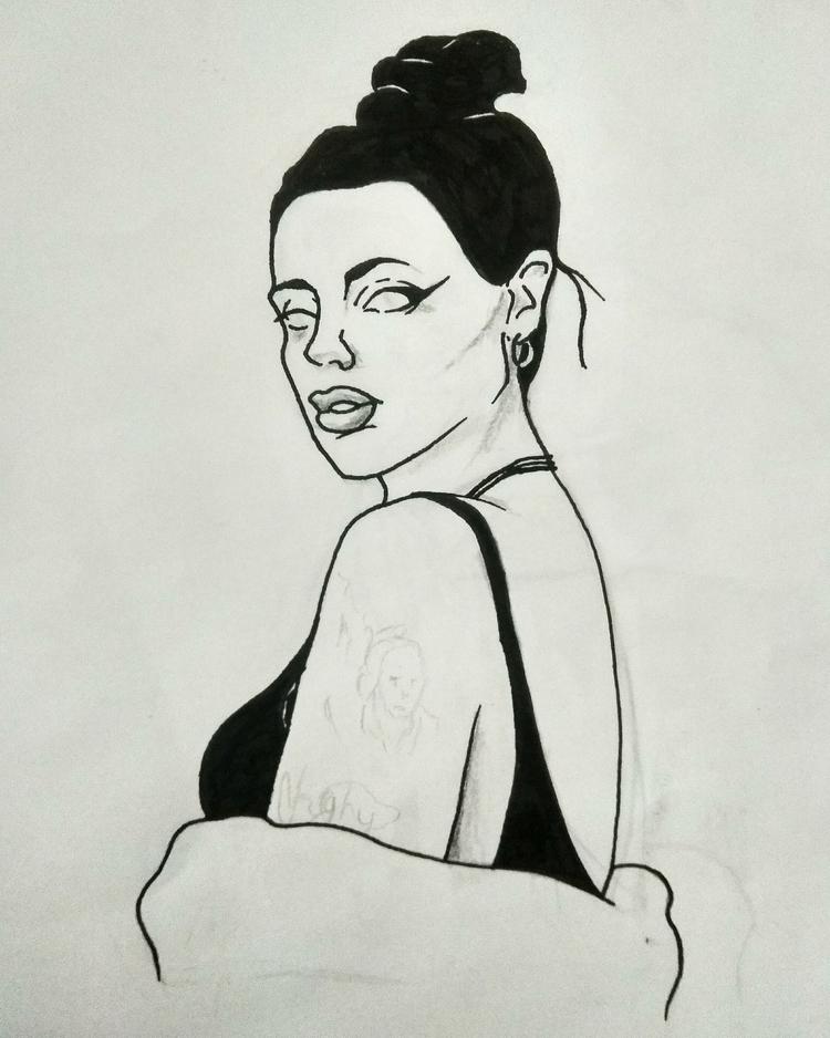 Retrato LaFavi - portrait, portraits - almendramistica | ello