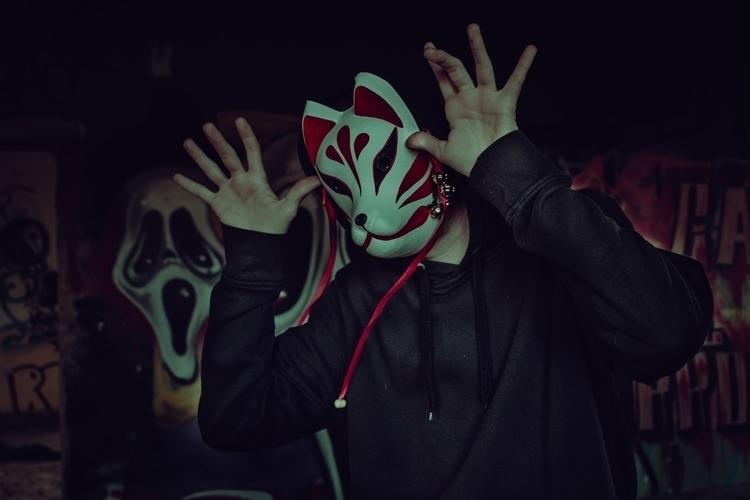 Kitsune - mask, photography, art - darumatuertophoto | ello
