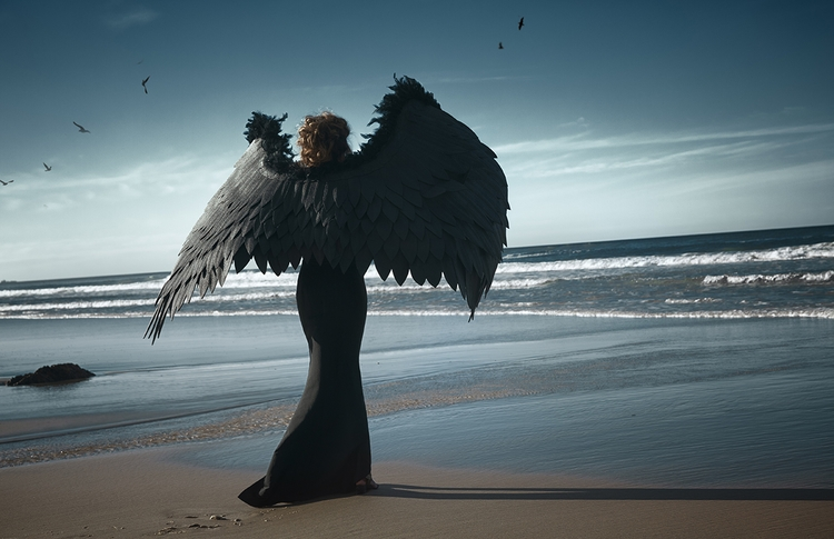 Photographer/Wings: Nadya Shevt - darkbeautymag | ello