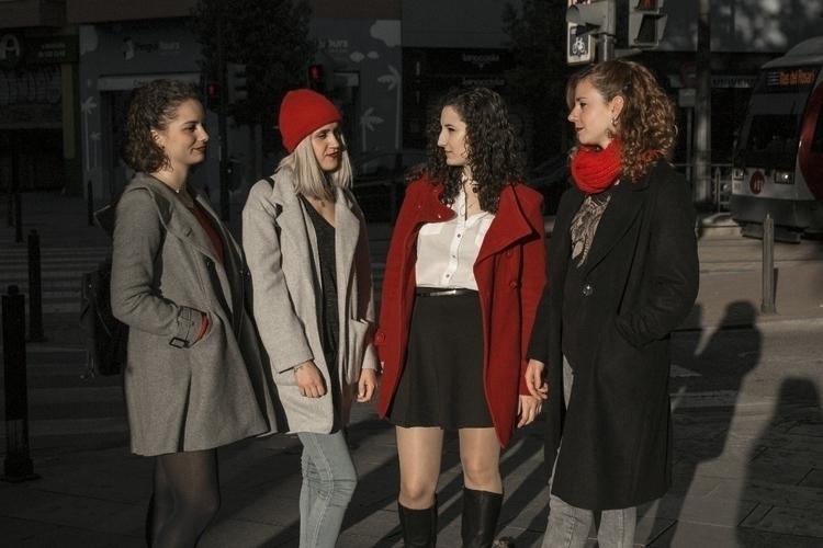 girl, girls, models, color, red - saraph97 | ello