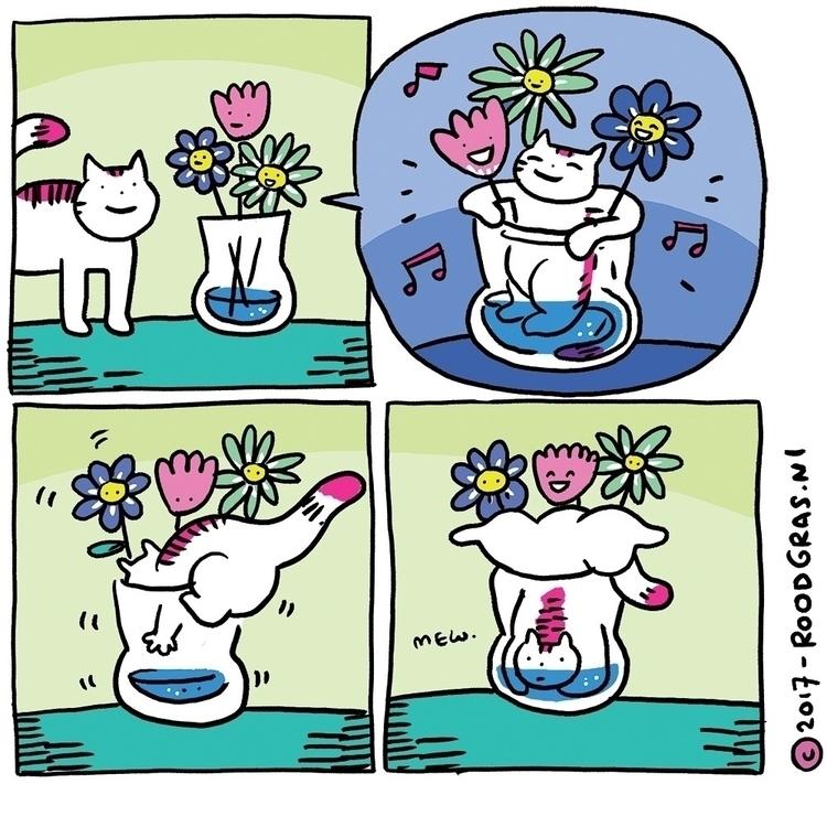 weekend! party hard stuck vase - pussloose | ello